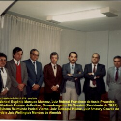31-05-1989 - visita Presidente TRF4 à SJPR